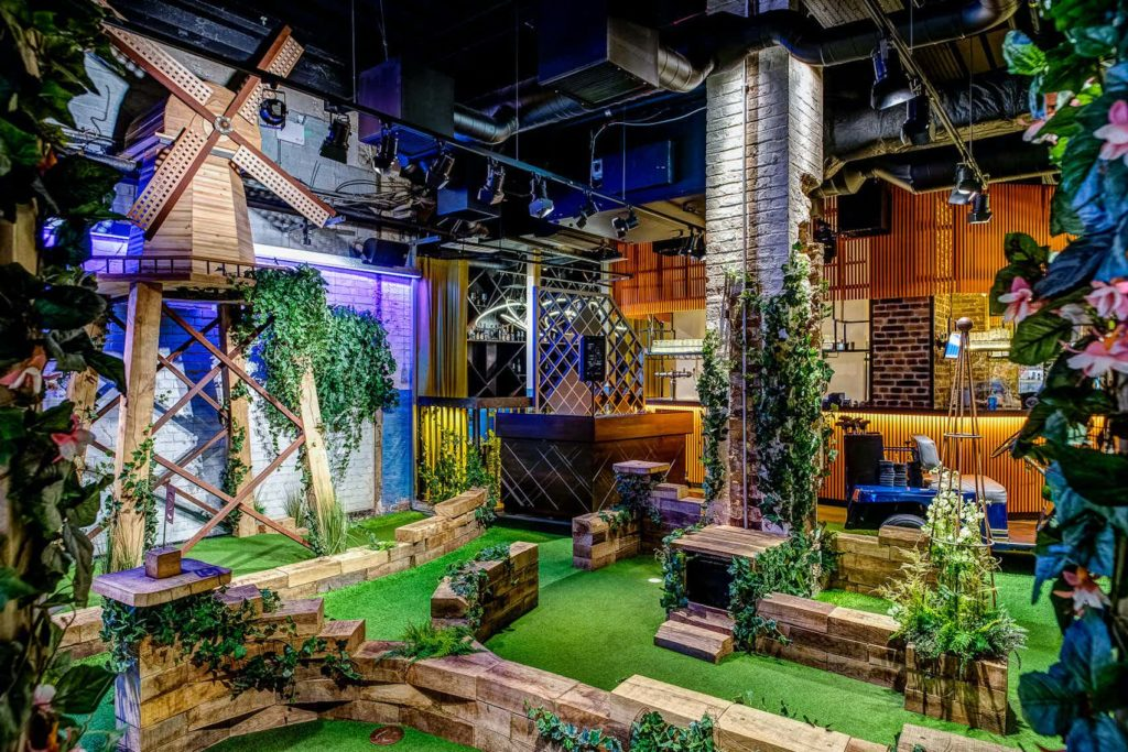 Swingers Golf Course | Infinity Group